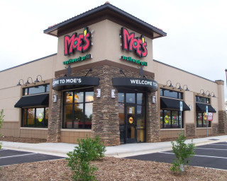Moe's Southwest Grill completed